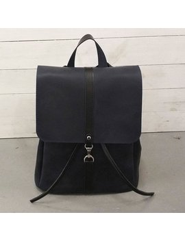 Blue Backpack Leather Backpack Laptop Backpack Tablet Backpack City Backpack Woman Backpack Big Backpack College Backpack Work Backpack by I Rich Leather