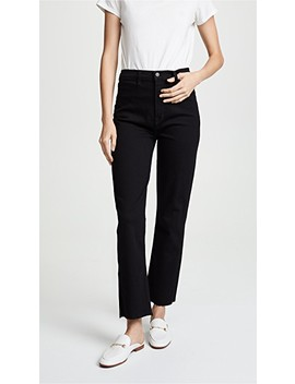 Stovepipe Straight Jeans by J Brand