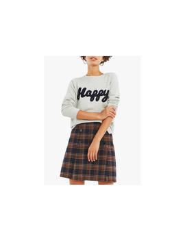 Oasis Happy Sweatshirt, Grey by Oasis