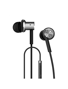 Xiaomi 3.5mm Hybrid Coil Iron In Ear Stereo Noise Cancelling Earphone Earbuds With Wired Remote Volume Control Mic by Mi