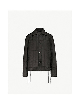Panelled Quilted Shell Jacket by Craig Green