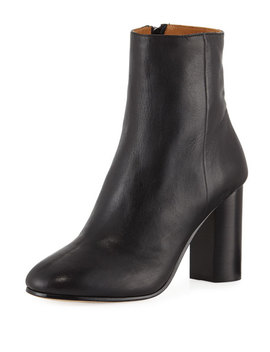 Lara Leather Ankle Boots by Neiman Marcus