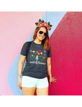 Disney Wildflower Shirt, Alice In Wonderland, Disney Shirt, Alice Shirt, Wonderland Shirt, Disney Family Shirt, Disney World, Disneyland by Polka Dot Pixie Shop