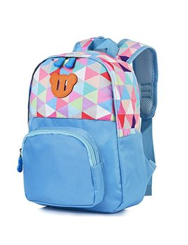 Vbiger Toddler Backpack Kids' Cartoon Carrying Bag Schoolbag (Blue) by Vbiger