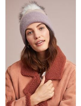 snowed-in-pommed-beanie by anthropologie