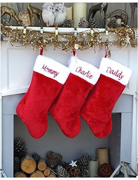 "18"" Personalized Christmas Stocking by Christmas Stockings By Stockingfactory"