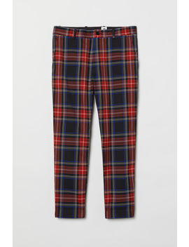 Checked Trousers by H&M