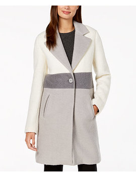 Colorblocked Coat by Laundry By Shelli Segal
