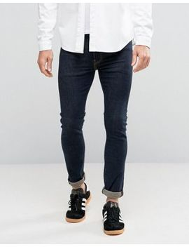 Levi's   519   Jeans Extreme Skinny Con Cuciture A Contrasto Lavaggio Indaco Pipe by Asos