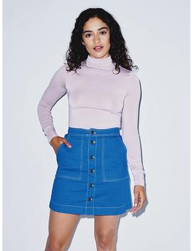 The Denim Pocket Skirt by American Apparel