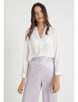 Roll Sleeve   Blouse by Dorothy Perkins