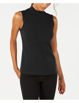 Sleeveless Mock Neck Top, Created For Macy's by Karen Scott
