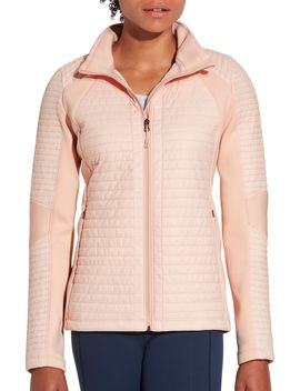 Calia By Carrie Underwood Full Zip Puffer Hybrid Jacket by Calia By Carrie Underwood