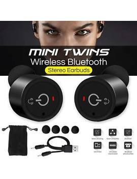 Mini Tws Twins True In Ear Wireless Stereo Bluetooth Earphones Earbuds Headset by Ebay Seller