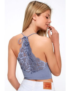The Century Periwinkle Blue Lace Brami by Free People