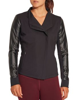 Calia By Carrie Underwood Women's Moto Jacket by Calia By Carrie Underwood