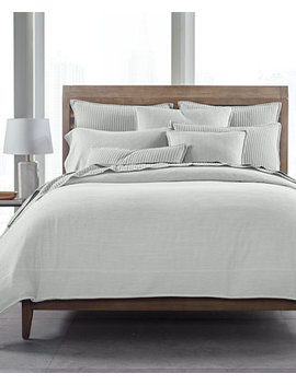 525 Thread Count Yarn Dyed King Duvet Cover, Created For Macy's by Hotel Collection