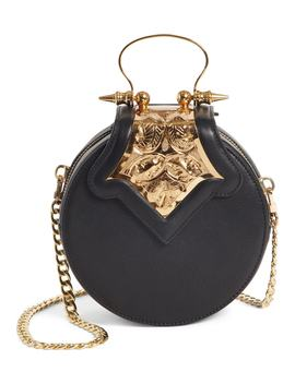 Mini Dome Crossbody Clutch by Okhtein