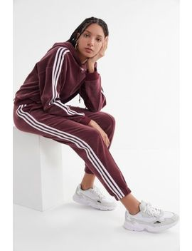Adidas Velvet 3 Stripes Track Pant by Adidas