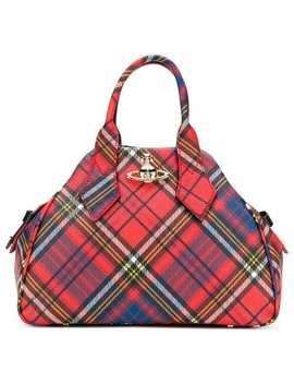 Vivienne Westwood Derby Tartan Medium Totehome Women Vivienne Westwood Bags Tote Bags by Vivienne Westwood