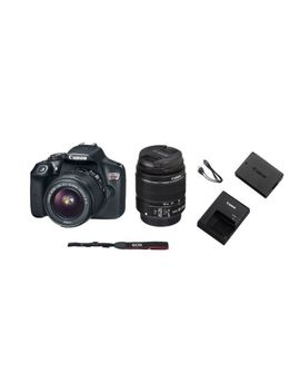Canon Eos Rebel T6 Slr With Lens 18mm 55mm 18 Megapixel Digital Camera 1159 C003 by Canon