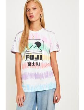Uo Fuji Tie Dye T Shirt by Urban Outfitters
