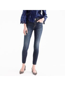 "Petite 9"" High Rise Toothpick Jean In Solano Wash by J.Crew"