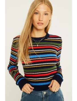 Uo Allover Stripe Jumper by Urban Outfitters