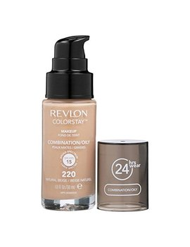 Revlon Colorstay Foundation For Combination/Oily Skin, Natural Beige by Revlon