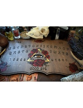 Ouija Board, All Seeing Eye Blooms by Pandora Witch Shop