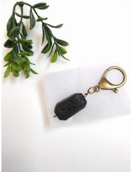 Lava Rock Diffuser Key Chain, Aromathearpy Key Chain, Essential Oil Key Chain Diffuser, Diaper Bag Diffuser, Diaper Bag Accessories by The Knotted Nest
