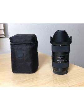Sigma Dc 18 35mm F/1.8 Af Hsm Dc Art Lens For Canon   Excellent Condition by Sigma