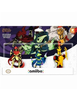 Shovel Knight: Treasure Trove Figures (3 Pack) by Amiibo