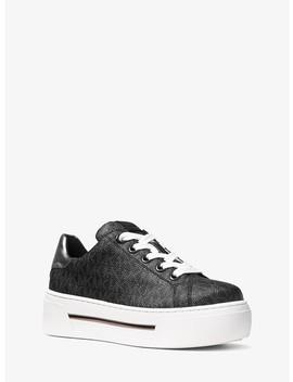 Ashlyn Logo Platform Sneaker by Michael Michael Kors