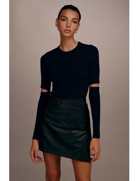 **Cut Out Essential Knitted Jumper By Boutique by Topshop