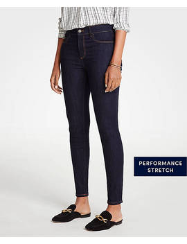 Modern High Rise All Day Skinny Jeans by Ann Taylor