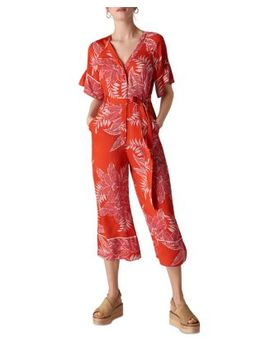 Palmyra Printed Jumpsuit by Whistles