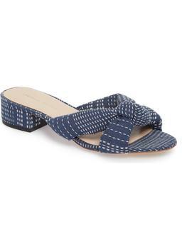 Elsie Knotted Slide Sandal by Loeffler Randall