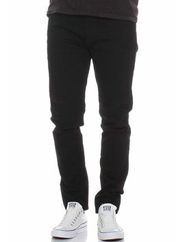 Levi's Men's 512 Slim Tapered Fit Nightshine Jeans, Black by Levi's