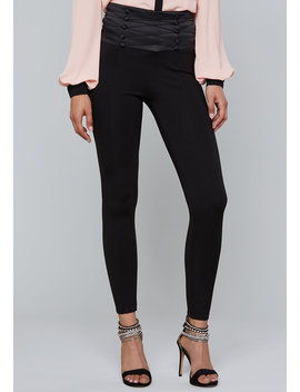 Button Corset Leggings by Bebe
