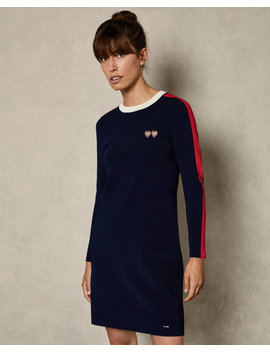 Striped Sporty Dress by Ted Baker