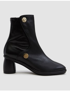 Curved Middle Ankle Boot by Reike Nen