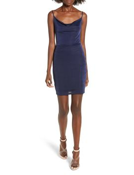 Cowl Neck Minidress by Nordstrom