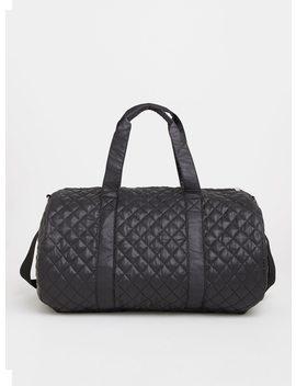 Black Quilted Weekender Bag by Torrid