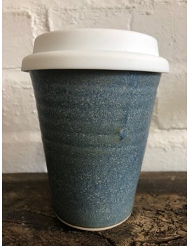 Ceramic Keep Cup Earth Cup by Old Brewhouse Pottery
