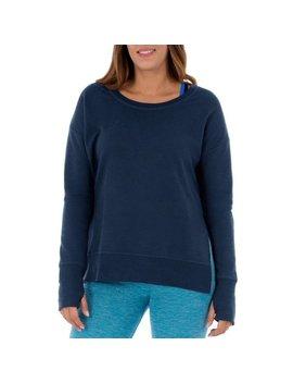 Women's Athleisure Essential Crewneck Sweatshirt by Athletic Works