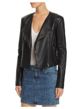 Dali Classic Orion Leather Jacket by Veda