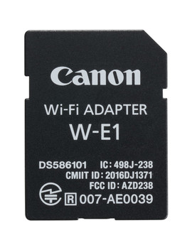 W E1 Wi Fi Adapter by Canon