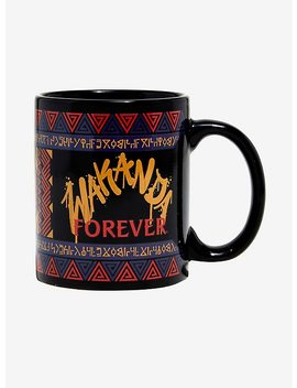Marvel Black Panther Wakanda Mug by Hot Topic