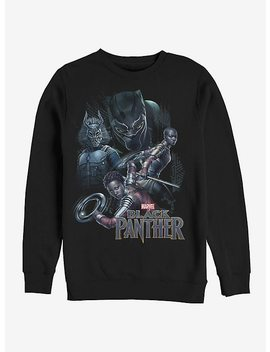 Marvel Black Panther 2018 Character View Sweatshirt by Hot Topic